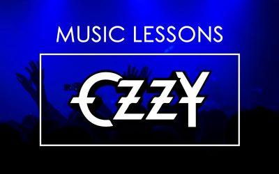 MUSIC LESSONS / CRAZY TRAIN